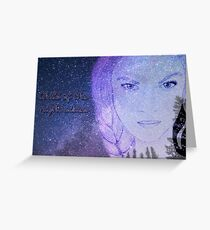 Child of the Night Skies Greeting Card