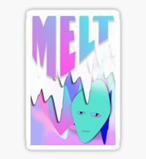 Melt Alien Sticker