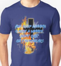 I'ma keep running Cause a winner don't quit on themselves Unisex T-Shirt