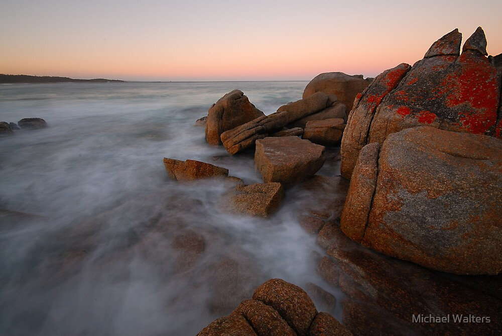 Bay of Fires sunset by Michael Walters