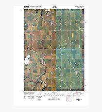 USGS TOPO Maps Iowa IA Gilmore City 20100427 TM Photographic Print