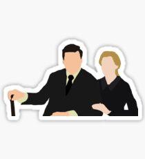 DA: Anna e Bates Sticker