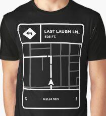 Fluorescent Adolescent - Last Laugh Lane Directions Graphic T-Shirt