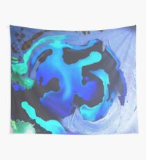 Swim with the Mermaids in the Great Natural Deep Blue Sea Wall Tapestry