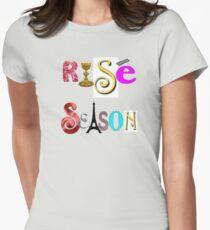 Rosé Season Time - Start Wine Season Now Womens Fitted T-Shirt
