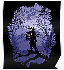 Zelda Majora's Mask Skullkid  Poster