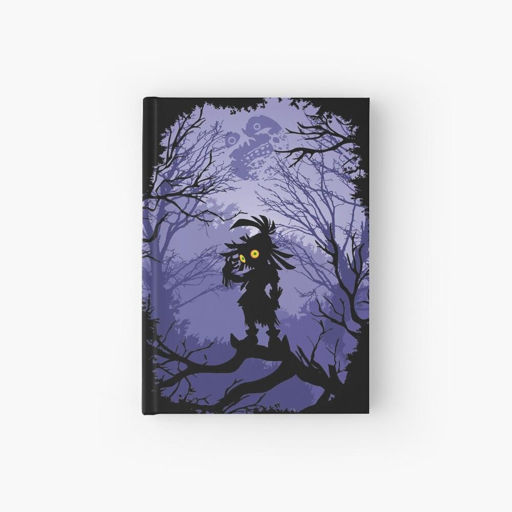 Máscara de Zelda Majora Skullkid Cuaderno de tapa dura
