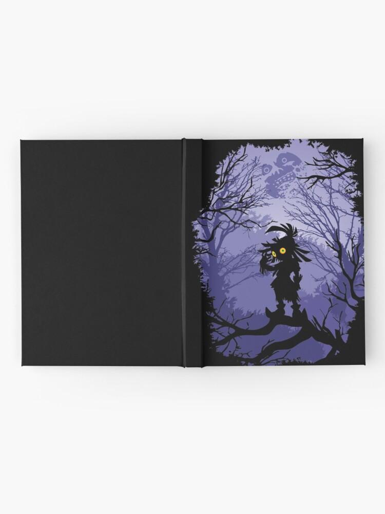 Vista alternativa de Cuaderno de tapa dura Máscara de Zelda Majora Skullkid