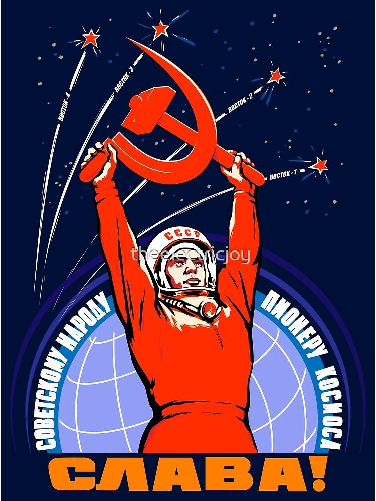 Sowjetische Propaganda. Yuri Gagarin von theelectricjoy