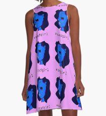 Sad girl pattern A-Line Dress