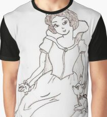 Princess and her friends  Graphic T-Shirt
