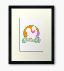 Cerulean City Gym Pokemon  Framed Print