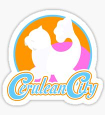 Cerulean City Gym Pokemon  Sticker