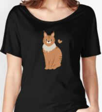 Maine Coon Cat Women's Relaxed Fit T-Shirt