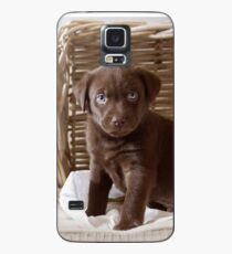 Chocolate Lab Case/Skin for Samsung Galaxy