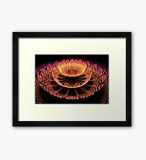 In fire Framed Print