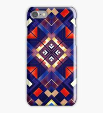 Abstract geometric pattern from rectangles and triangles, polygons. iPhone Case/Skin