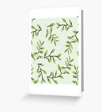 leafs Greeting Card