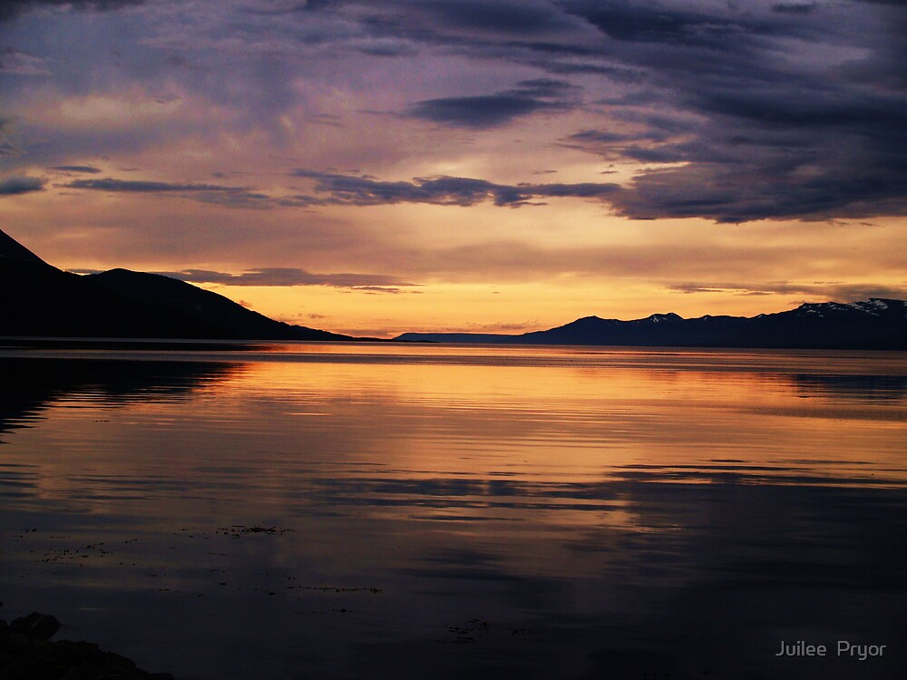 Ushuaia Harbour early morning light by Juilee  Pryor