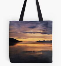 Ushuaia Harbour early morning light Tote Bag