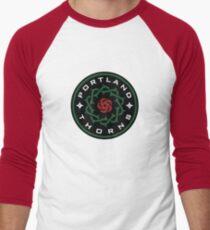 Portland Thorns Men's Baseball ¾ T-Shirt