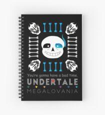Sans - Undertale Spiral Notebook