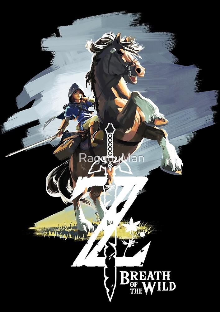 Zelda Breath of the Wild by RaggdyMan