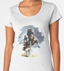 Zelda Breath of the Wild Women's Premium T-Shirt