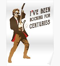 Doctor Who - Rocking for Centuries  Poster