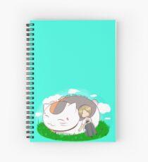 Natsume and Nyanko-sensei Spiral Notebook