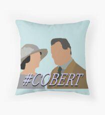 DA #Cobert Throw Pillow