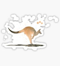 Cute Kangaroo Sticker