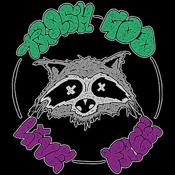 TRASH GOD - Original Design by papabaird