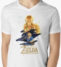 Zelda Breath of the Wild - The Silent Princess Men's V-Neck T-Shirt