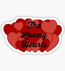 The Lonely Hearts Sticker Sticker