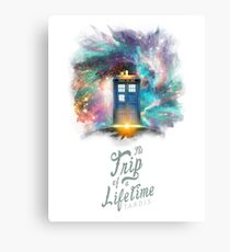 TARDIS - Trip of a Lifetime Canvas Print