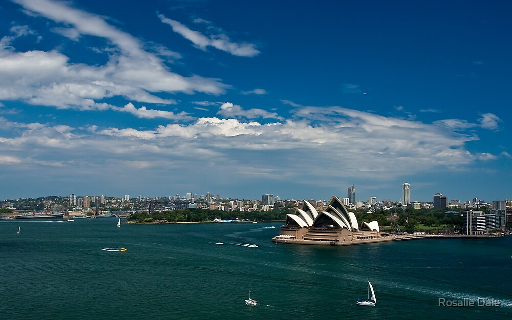 Classic Sydney Harbour by Rosalie Dale