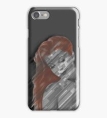 Abstract Pin-up iPhone Case/Skin