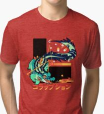 Crocodile: CORRUPTION Tri-blend T-Shirt