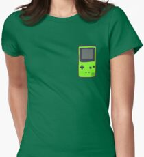 Green Gameboy COLOR Womens Fitted T-Shirt