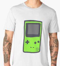 Green Gameboy COLOR Men's Premium T-Shirt