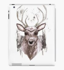 Deer Portrait. Woodland Series iPad Case/Skin