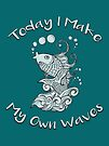 Koi Fish - Today I make My Own Waves by jitterfly