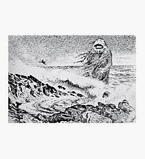 Lámina fotográfica Theodor Kittelsen Sjøtrollet 1887 The Sea Troll