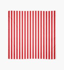 Red Stripes Scarf