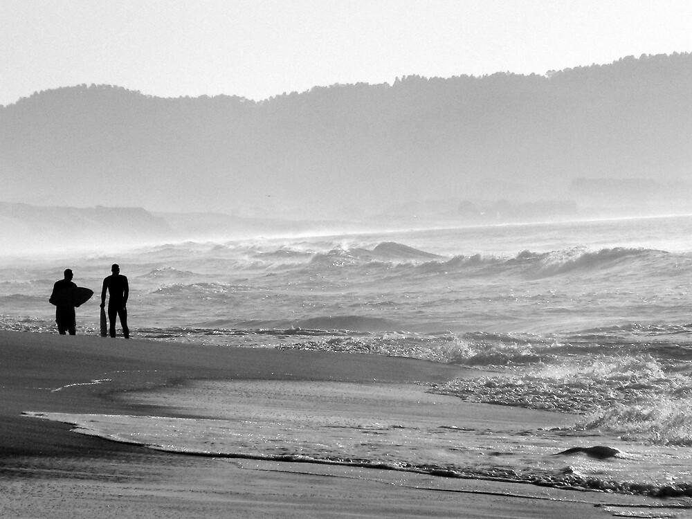 Wakeboarders in Monterey  by Erin  Herlihy
