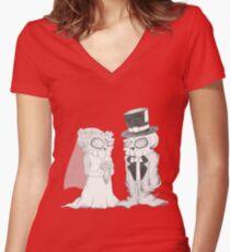 I Do Women's Fitted V-Neck T-Shirt