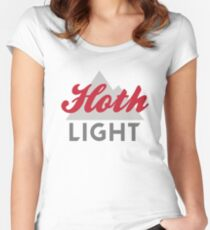 Hoth Light Beer Women's Fitted Scoop T-Shirt