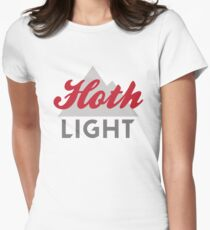 Hoth Light Beer Women's Fitted T-Shirt