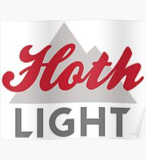 Hoth Light Beer Poster